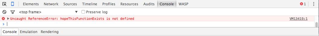 Errore JavaScript 0