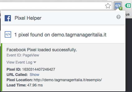 plugin pixel helper