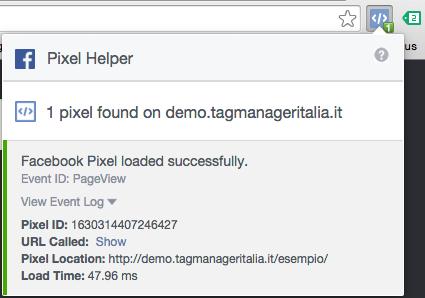 plugin pixel helper