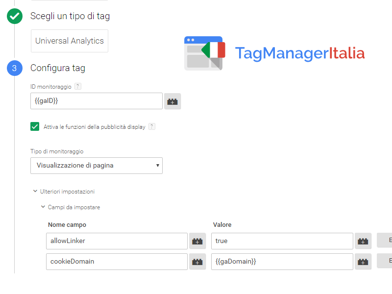 google tag manager - cross domain e sub domain allowlinker