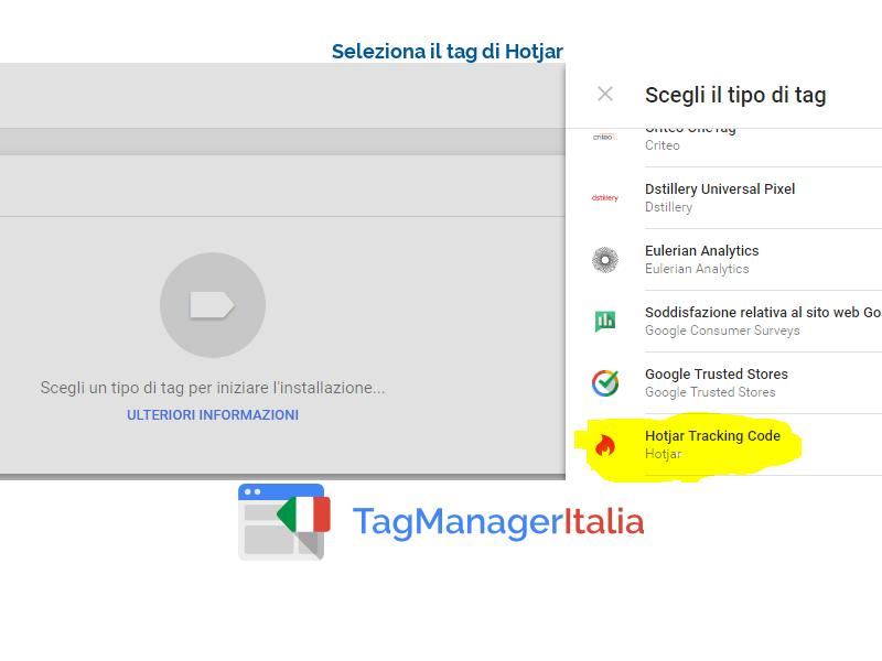 google tag manager tag hotjar