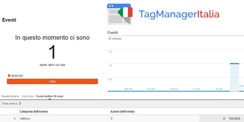 google tag manager tracciare adblock - tag analytics2