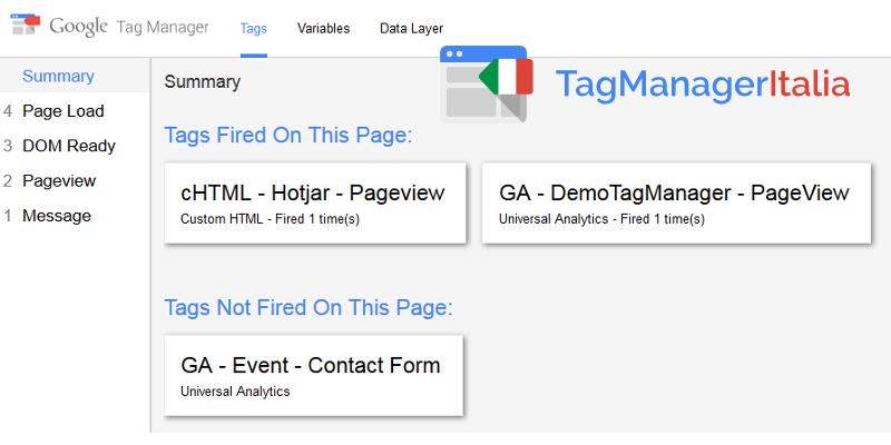 hotjar debug google tag manager