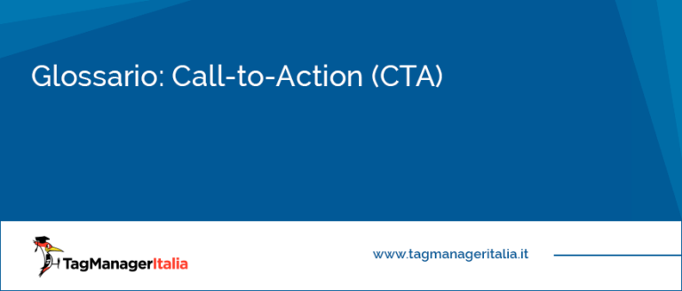 glossario call to action