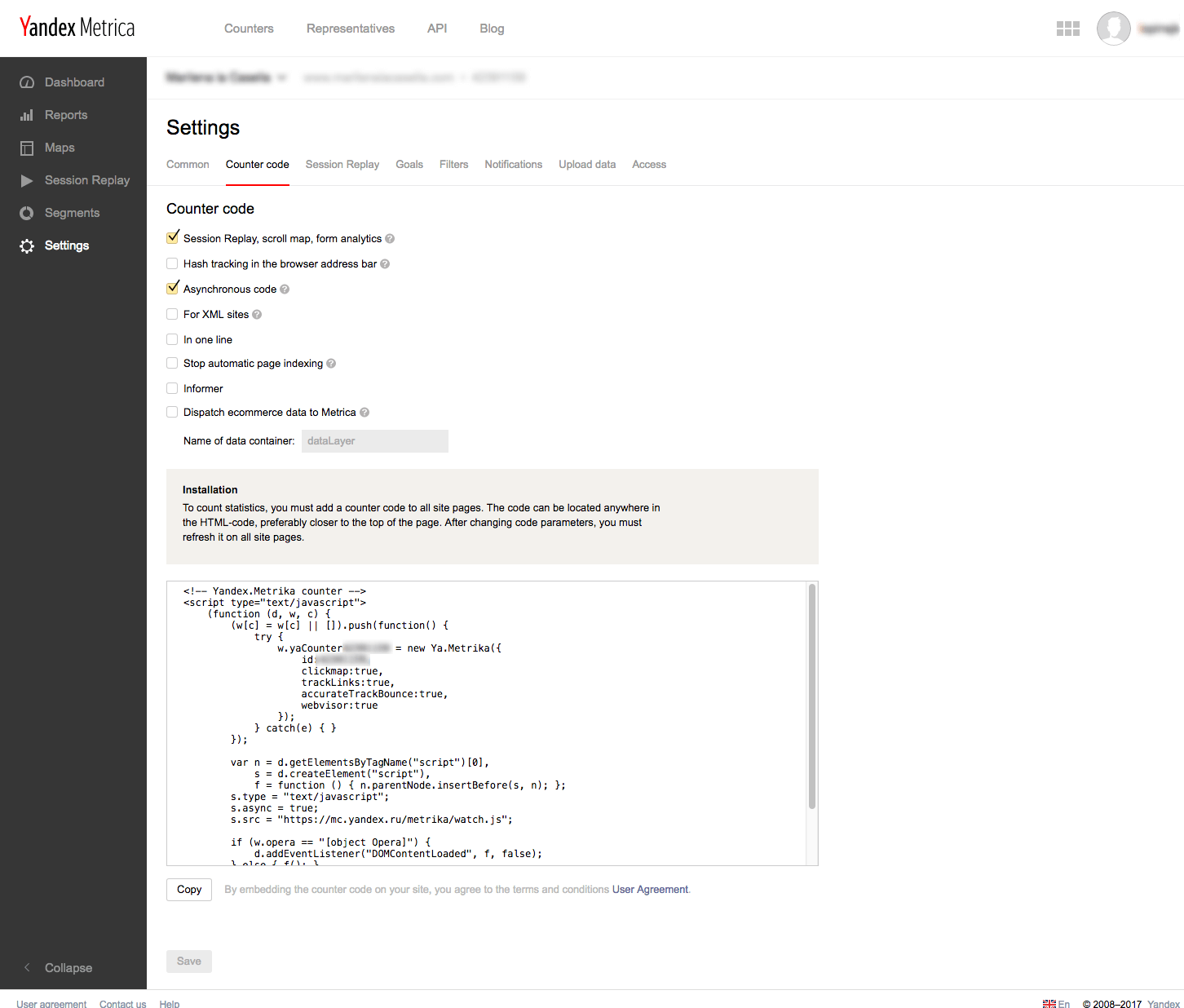 installare-yandex-metrica