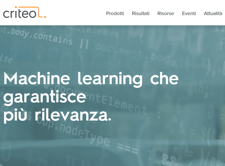 criteo cos'è - google tag manager