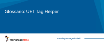 Glossario: UET Tag Helper