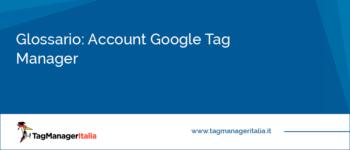 Glossario: Account