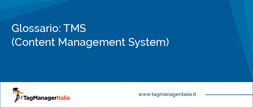 Glossario TMS (Content Management System)