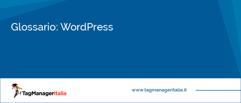 Glossario WordPress