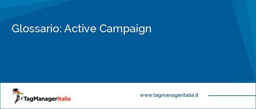 glossario active campaign