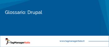 Glossario: Drupal