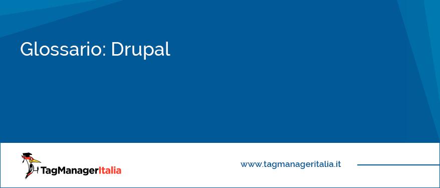 glossario drupal