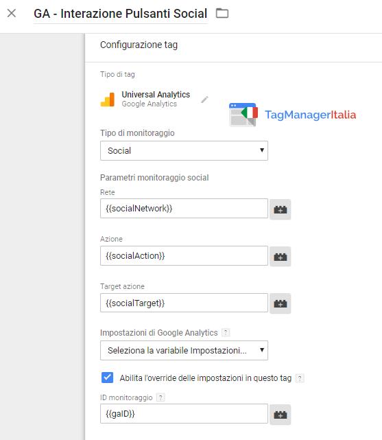 tag2 tracciare bottone facebook mi piace google tag manager