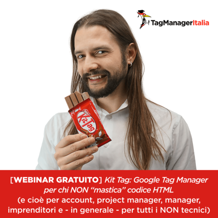 webinar gratuito Google Tag Manager