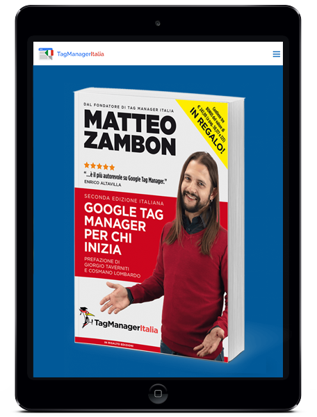 ipad libro google tag manager
