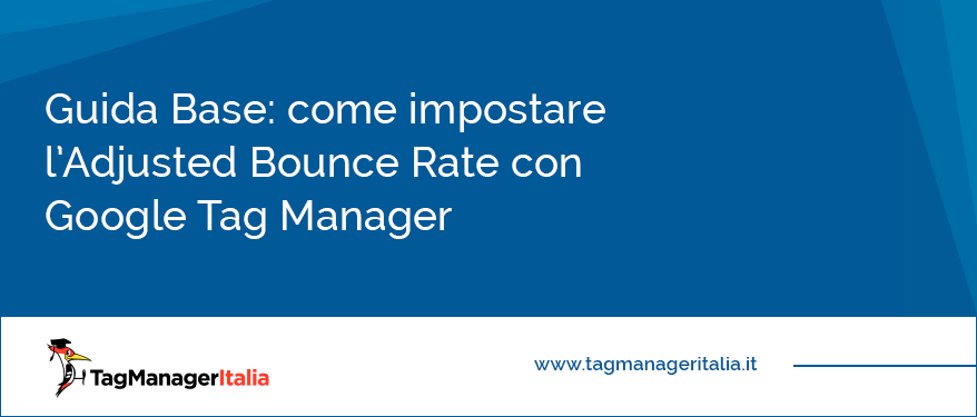 come impostare adjusted bounce rate