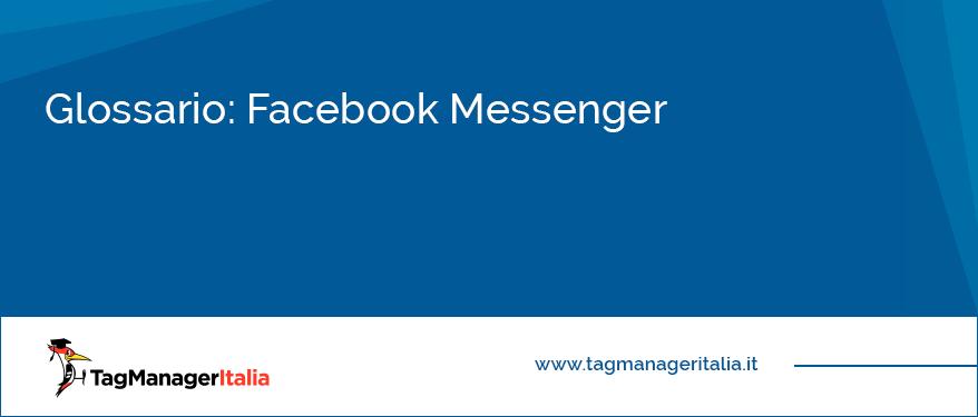 glossario facebook messenger