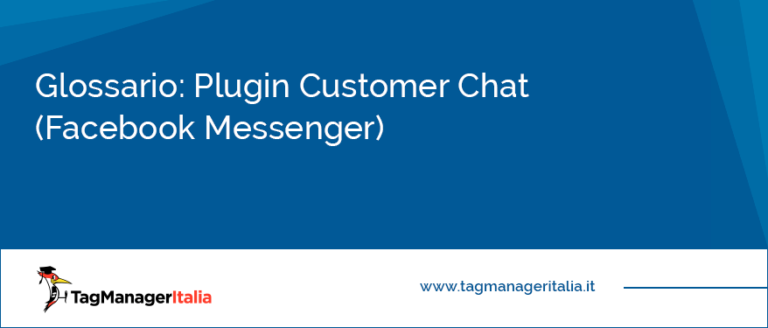 glossario plugin customer chat per facebook messenger
