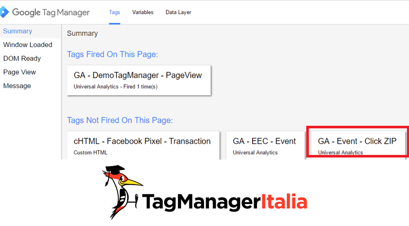 google tag manager download file zip step 4