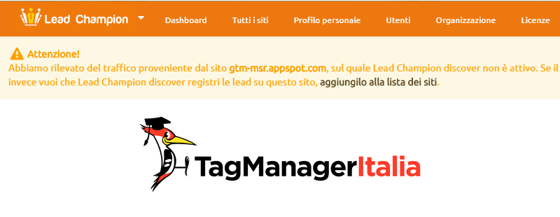 gtn msr.appspot lead champion con google tag manager