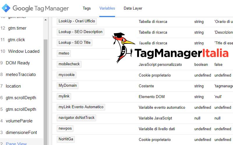 anteprima tracciare do not track dnt google tag manager