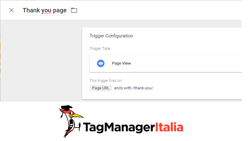 attivatore monitoraggio adwords google tag manager
