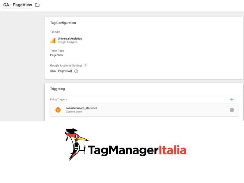 cookiebot con google tag manager step 3 gestione tag