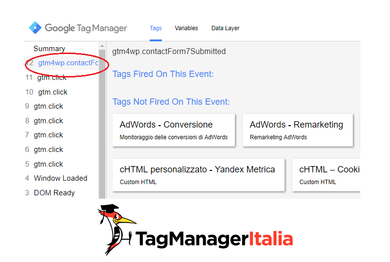 evento gtm contact form 7 google tag manager