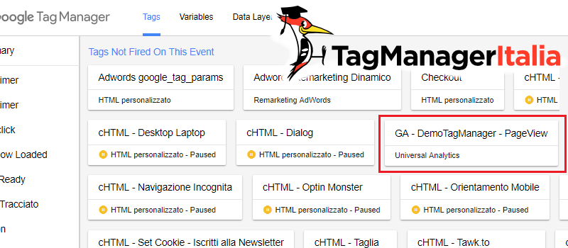 verifica rispettare do not track dnt google tag manager