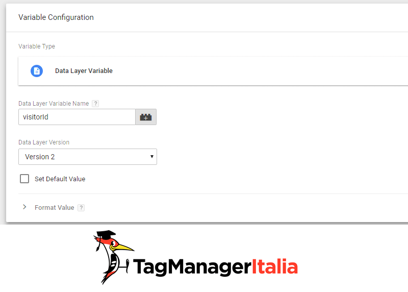 variabile abilitare user id analytics google tag manager