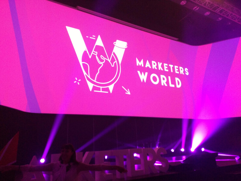 15/16 SETTEMBRE RICCIONE - MARKETERS WORLD 2018