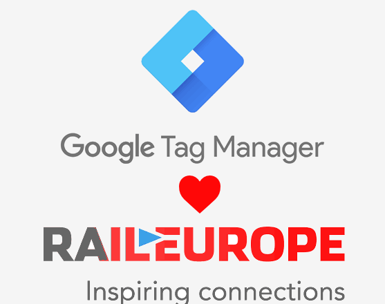 tag manager loves Rail Europe