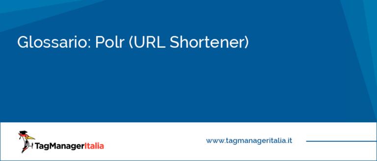 Glossario Polr URL Shortener