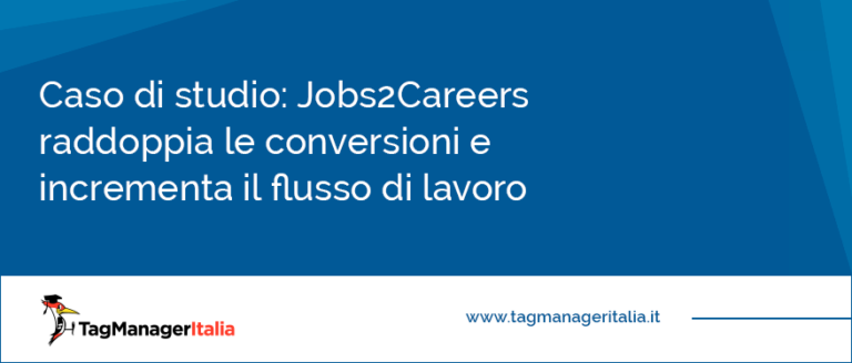 Caso di studio Jobs2Careers