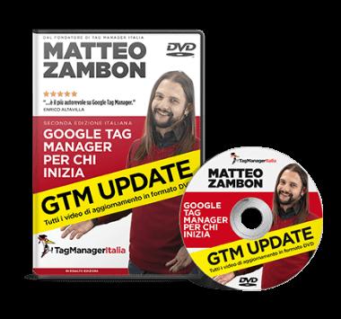"""DVD GTM UPDATE - Aggiornamento Libro """"Google Tag Manager per chi inizia"""""""