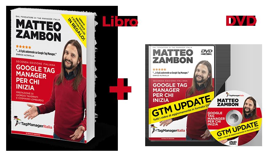 "Libro ""Google Tag Manager per chi inizia"" + DVD GTM Update"