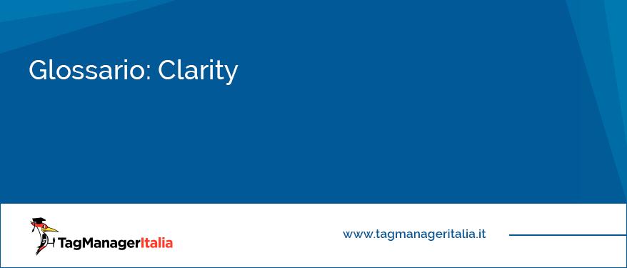 Glossario Clarity