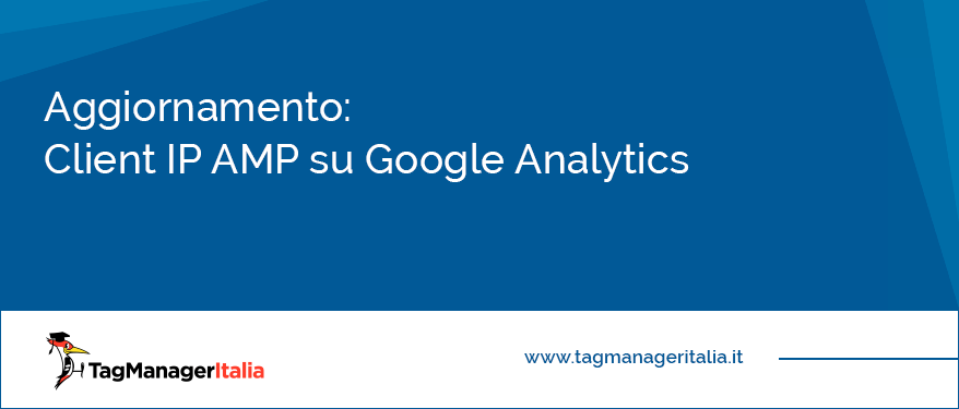 aggiornamento client id amp google analytics