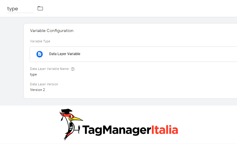 variabile tracciare desktop laptop analytics google tag manager