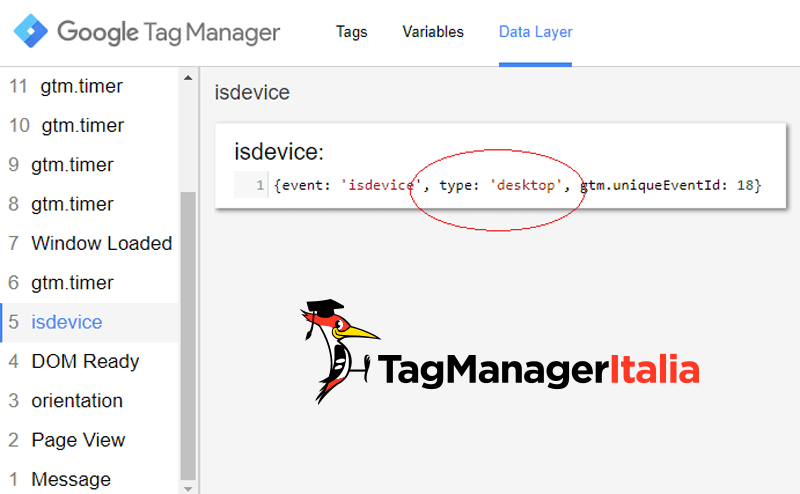 verifica2 tracciare desktop laptop analytics google tag manager