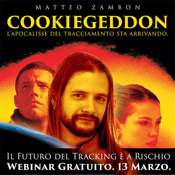 Webinar gratuito Cookiegeddon il 13 marzo