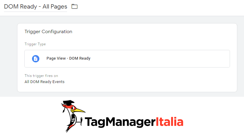 evento trigger dom ready all pages