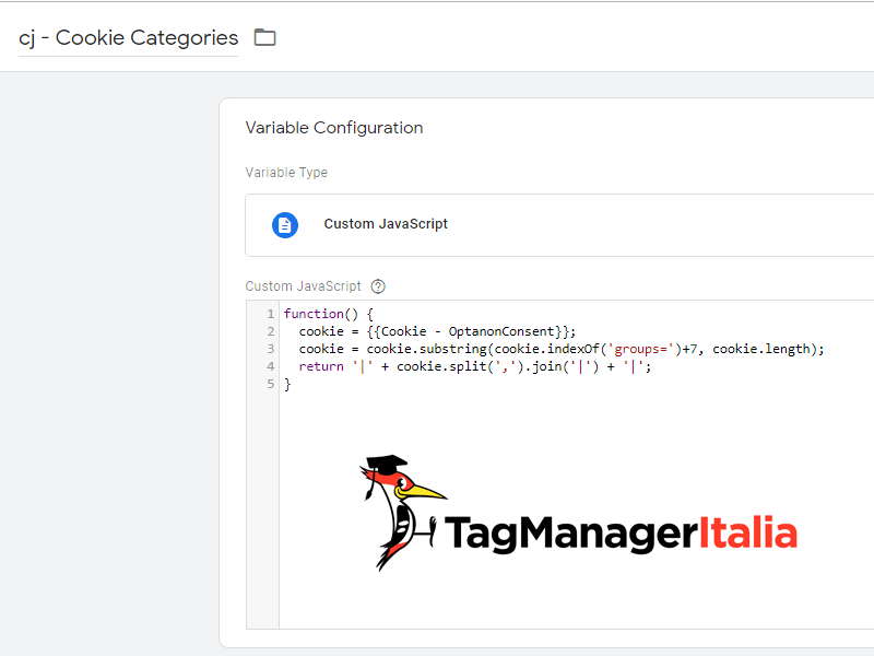 Variable fix OneTrust cookie with pipes in Google Tag Manager