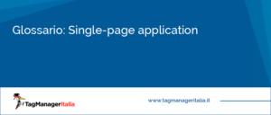 glossario single page application