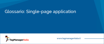 Glossario: Single-page application