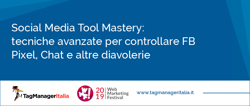 social media tool mastery web marketing festival 2019