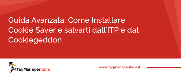 Come Installare Cookie Saver e salvarti dall'ITP e dal Cookiegeddon