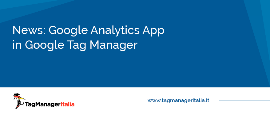 News Google Analytics App in Google Tag Manager