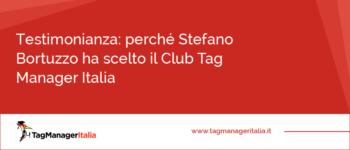 Testimonianza: perché Stefano Bortuzzo ha scelto il Club Tag Manager Italia e il Progetto Andromeda